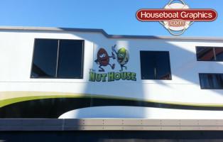 Houseboat Graphics boat decals - vinyl boat names!