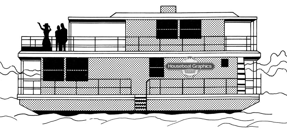 Houseboat Graphics Are More Than A Decoration Boat Graphics - Houseboat decals